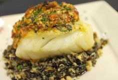 Delicate Alaskan lingcod is stuffed with a succulent mixture of Dungeness crab meat, spinach and ricotta. Top it with a wonderful creamy sun-dried tom...