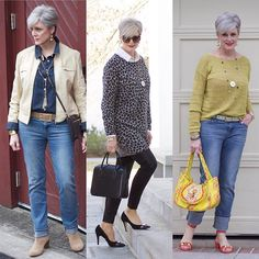 it's all about my go-to look this week - casual chic. a pop of color a punch of leopard and blue jeans are a few of my favorites. better yet, style an outfit your way, tag me in your post, and use . Over 60 Fashion, Over 50 Womens Fashion, Fashion Tips For Women, Women's Fashion, Fashion Ideas, Classy Outfits, Beautiful Outfits, Cool Outfits, Casual Chic