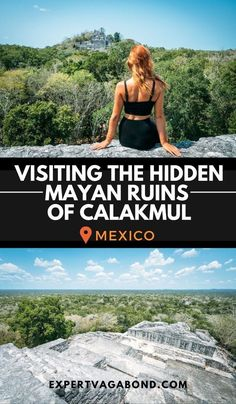 Visiting The Hidden Mayan Ruins Of Calakmul In Mexico! More at ExpertVagabond.com #Mexico #NorthAmerica #MayanRuins #Calakmul #Adventure #Travel