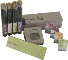 TEA package - love the tubes.