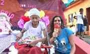 Matéria com os GSAs 2012 Sunshine e Izaque no programa Em Movimento, na TV Gazeta ES.