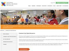Common Core Open Resources - PARCC, CCSS