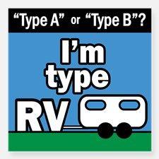 Type RV Sticker for