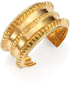 A Peace Treaty Remi Spiked Cuff Bracelet on shopstyle.com