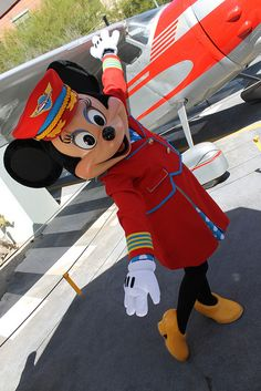 .... Fly Girl  Minnie at California Adventure