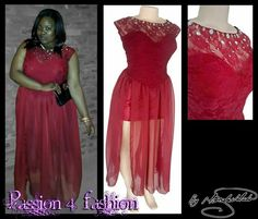 Wine red , mini velvet matric dance dress with an overlayer of chiffon with a slit. Bodice with lace, neckline with sheer lace detailed with gold and silver bling. #mariselaveludo #fashion #matricdance #matricdress #passion4fashion #reddress #lace