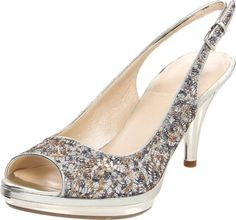 Nine West Women's Sharina Slingback Pump,Silver/Silver Fabric,10.5 M US Nine West, http://www.amazon.com/dp/B0087HQYEE/ref=cm_sw_r_pi_dp_0dtyqb0PHX1ZQ