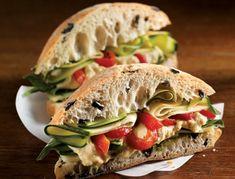 Le Meditérranéen | Recettes IGA | Sandwich, Lunch, Recette rapide