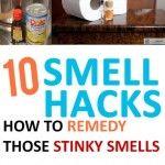 10 Smell Hacks-How to Remedy Those Stinky Smells