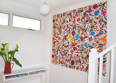 Spotted: Otomi Embroidered Textiles   Go Haus Go