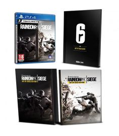 PS4 RAINBOW SIX SIEGE - ART OF SIEGE COLLECTOR´S EDITION