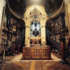 Hogwarts set, Harry Potter and the Chamber of Secrets -Dumbledore's office