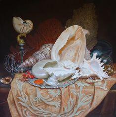 Виктория Кирьянова. Ракушки на серебряном блюде, 2015