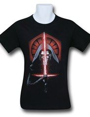 Star Wars Force Awakens Kylo Ren Shot T-Shirt