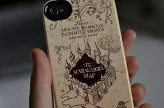 """Harry Potter phone case... """"I solemly swear that I am up to no good"""""""