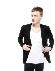 Bershka España -Blazer cuello tricot