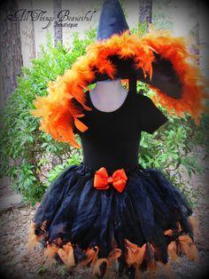 Witch Halloween Costume Witch Petti Tutu
