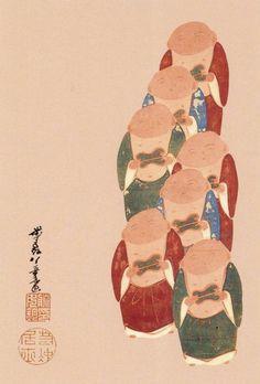 伊藤若冲の「伏見人形図」