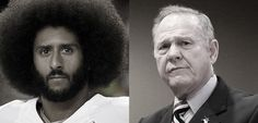 Sometimes the truth about America appears in black and white. Sometimes it comes with unmistakable clarity, even if you'd rather not see what you're seeing. On the same day this week, former NFL quarterback-turned pariah Colin Kaepernick received GQ's Citizen of the Year award—while GOP senate candidate Roy Moore (now the subject of several sexual… Continue Reading Kneeling Black Men, Running White Predators