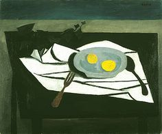 Enlarge © 2010 Estate of William Scott Reference URL Reference URL William Scott Still Life - Lemons on a Plate, 1948 1948 Still Life Artists, Drawing Projects, Fruit Art, Art Uk, Art Graphique, Contemporary Paintings, Abstract Paintings, Abstract Art, Map Art