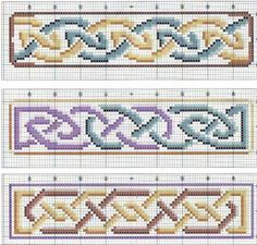 Celtic Bookmark Cross Stitch Patterns