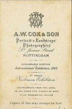 COX A.W. & Son - Nottingham