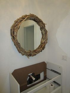 drift-wood mirror