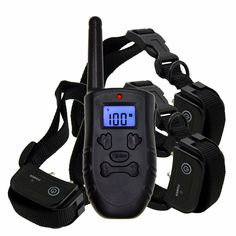 Screen Back light, Remote Pet Dog Training Electronic Collar, Rechargeable 100 Levels Shock and Vibration. Online shopping for Electronic Dog Collar with free worldwide shipping Electronic Dog Collars, Buy Pets, Dog Training, Pet Dogs, Pet Supplies, Cat Lovers, Remote, Kittens, Swimming