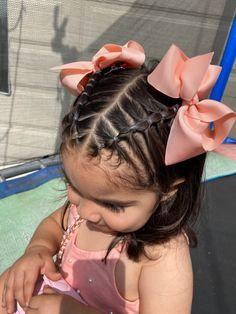 Toddler Hair Dos, Easy Toddler Hairstyles, Kids Curly Hairstyles, Cute Girls Hairstyles, Cute Hairstyles For Toddlers, Baby Hair Dos, Easy Little Girl Hairstyles, Girls Hairdos, Foto Baby