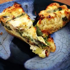 leek asparagus gruyere and chevre quiche more dinnertime quiches ...