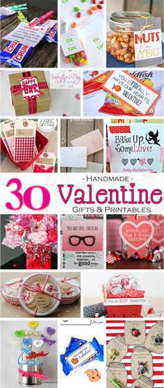 30 Handmade Valentin