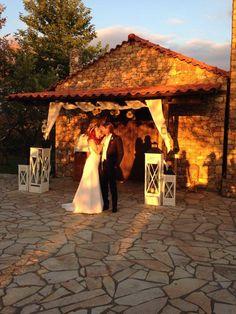 lovely couple at Ktima Likno