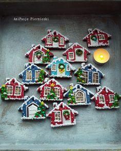 Boże Narodzenie, pierniczki, mikołaj, bałwanek, choinka,