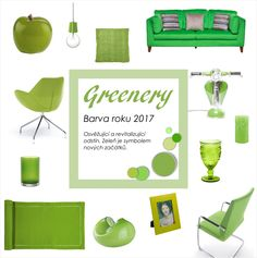 Greenery - Pantone barva roku 2017 Greenery Pantone, Place Cards, New Homes, Place Card Holders, Inspiration, Biblical Inspiration, New Home Essentials, Motivation