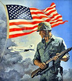 U.S Marine paintings   US Marine Corps Aviation Art Program, National Air and Space Museum ...
