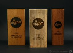 Rhythm Laser Etched Wooden Pint Of Sale Blocks - custom made by @potato_press