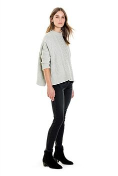 Cable Trapeze Knit