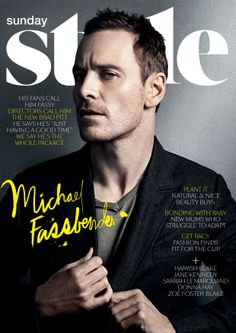 Issue #36. Starring Michael Fassbender. Download the app: www.appstore.com/SundayStyle