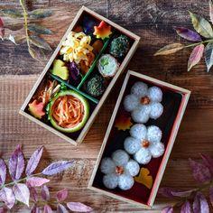 posted by @xxmizukaxx 昨日の花金弁当!  ご飯のお花型を作るカップをご紹介しています。  「ブロッコリーの肉巻きの花金弁当」→https://goo.gl/h1TmFS  #お弁当 #弁当 #obento #obentoart #レシピ #OnigiriAction