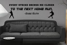 Babe Ruth pared citar por IdentityGraphics en Etsy