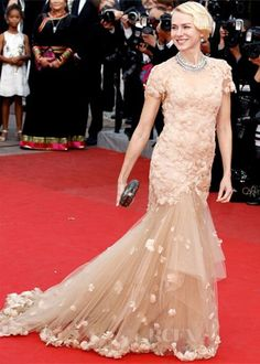 Naomi Watts in Marchesa at the 2012 Cannes Film Festival