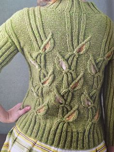 Emma Vining's Gladioli Sweater