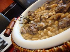 Portuguese Recipes, Portuguese Food, Black Eyed Peas, Risotto, Macaroni And Cheese, Oatmeal, Food And Drink, Eat, Cooking
