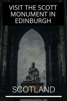 Things to do in Edinburgh Scotland. Spend the day climbing the Victorian Gothic Monument dedicated to Walter Scott with stunning views of Edinburgh. Edinburgh Travel, Edinburgh Scotland, Moving To Scotland, Scotland Travel, Novel Genres, Scott Monument, Stuff To Do, Things To Do, National Animal