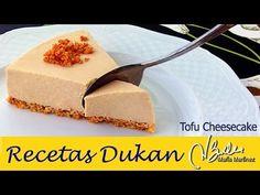 Recetas con Tofu fáciles: Tarta fría de Tofu y queso | Recetas Dukan Maria Martinez
