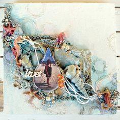 canvas-mixedmedia-seashells-alcoink1.JPG 500 × 501 pixlar