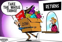 Walt Handelsman Editorial Cartoon, December 25, 2016     on GoComics.com