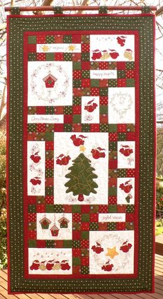Christmas Song  Block of the Month Pattern Pack