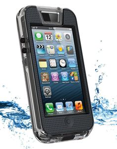 Keep your iPhone safe from the elements with a sturdy waterproof case ($90). An instant underwater camera!
