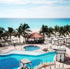 Just another day in paradise at Zilara Cancun. Take some time for all-inclusive sun soaked relaxation at one of our sparkling pools. Our adults only resort gives you a chance to warm up and wind down in Mexico. | Hyatt Zilara Cancun